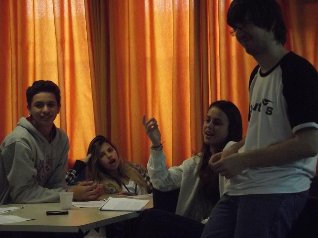 """Workshop """"Literatura Fantástica"""" no Colégio de Aplicação, na Universidade Federal de Santa Catarina"""